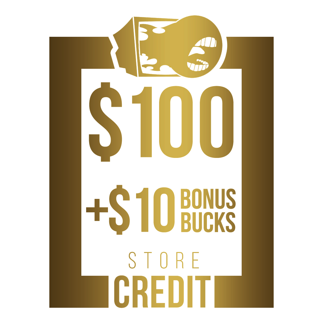 $110 Store Credit [CASH ONLY]