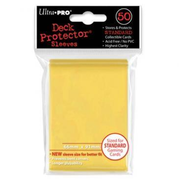 Ultra Pro Sleeves - Yellow (50 ct.)
