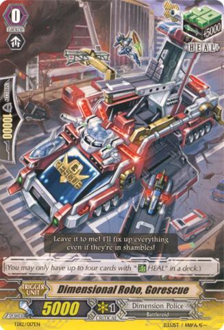 Dimensional Robo, Gorescue TD12/017EN
