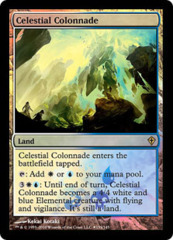 Celestial Colonnade (Worldwake Buy-a-Box Promo) on Channel Fireball