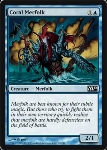 Coral Merfolk - Foil