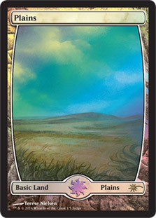 Plains - Extended Art (Judge Foil)