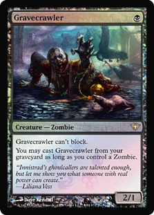 Gravecrawler (Dark Ascension Buy-a-Box Promo)