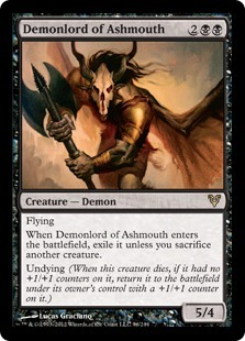 Demonlord of Ashmouth - Foil