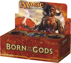 Born of the Gods Booster Box on Channel Fireball