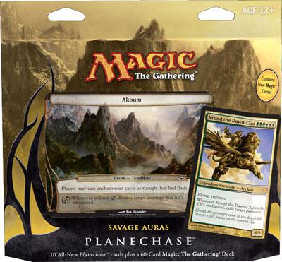 Planechase 2012 Game Pack: Savage Auras