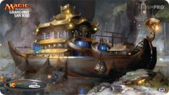 Grand Prix San Jose 2015 Playmat - Treasure Cruise