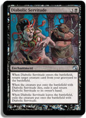 Diabolic Servitude - Foil