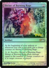 Shrine of Burning Rage (WPN Foil)