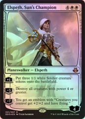Elspeth, Sun's Champion - Foil on Channel Fireball
