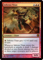Inferno Titan (Duels of the Planewalkers 2012)