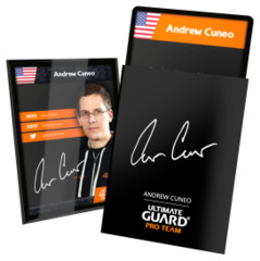 Ultimate Guard Pro Team Sleeves - Andrew Cuneo (100 ct.)