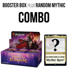 Throne of Eldraine Booster Box + Random Mythic Rare
