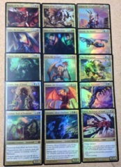 Commander 2011 Oversized Cards - Complete Set