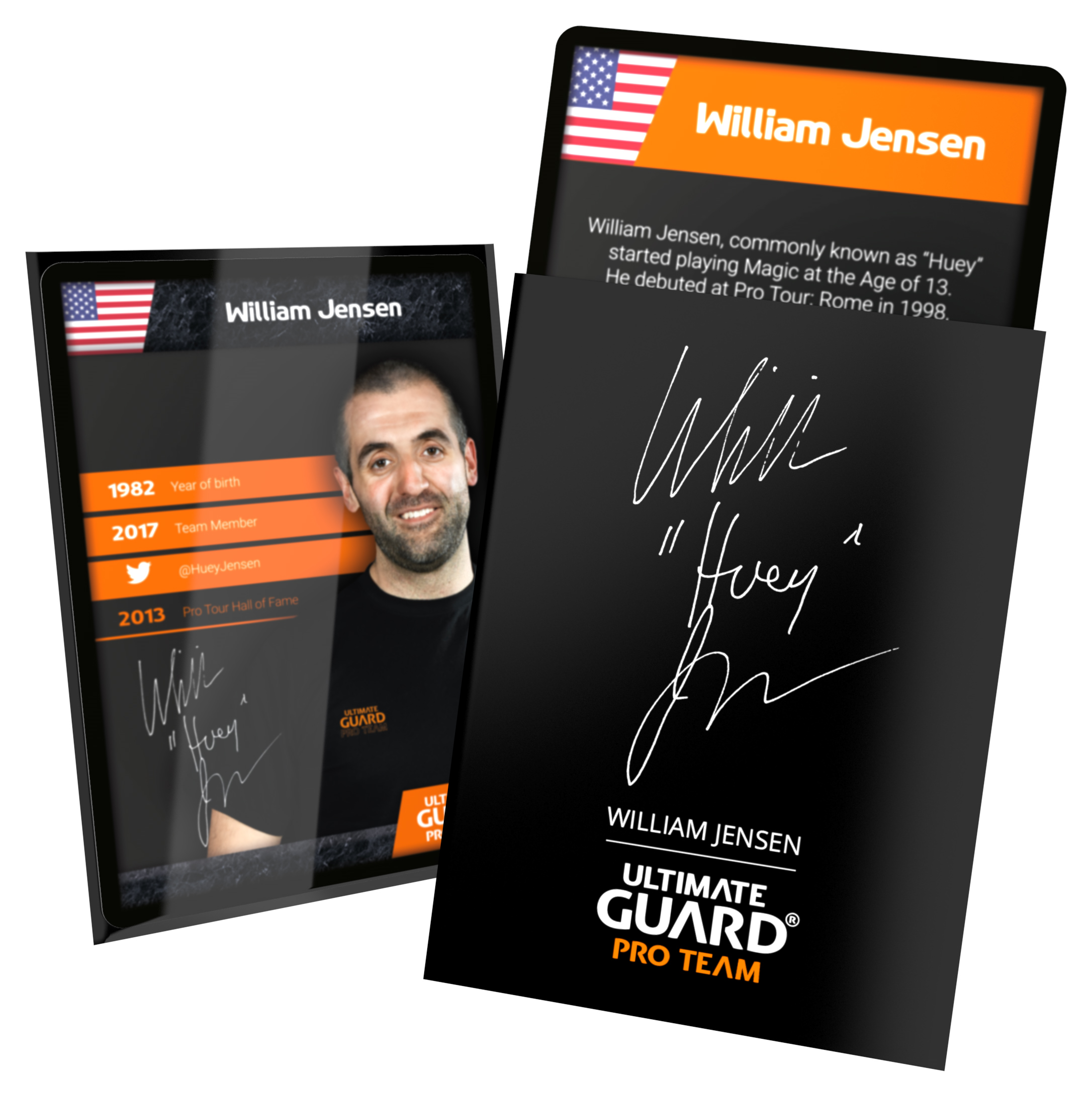 Ultimate Guard Pro Team Sleeves - William Jensen (100 ct.)