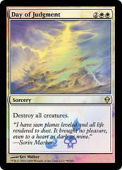 Day of Judgment (Zendikar Buy-a-Box Promo)