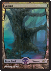 Swamp - Extended Art (Judge Foil)