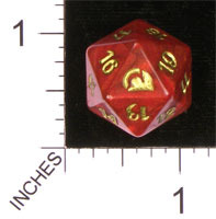 20 Sided Spindown Die - From the Vault: Realms