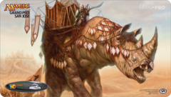 Grand Prix San Jose 2015 Playmat - Siege Rhino