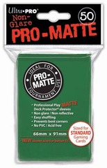 Ultra PRO Pro-Matte Sleeves - Green (50 ct.)