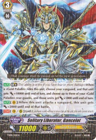Solitary Liberator, Gancelot - TD08/001EN
