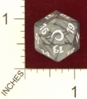 20 Sided Spindown Die - Premium Deck Series: Slivers