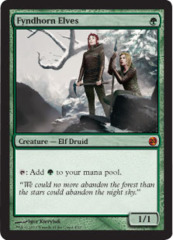 Fyndhorn Elves - Foil on Channel Fireball