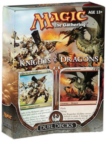 Duel Decks: Knights vs. Dragons