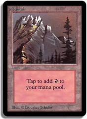 Mountain (Grey Mountain / Red Sky) on Channel Fireball