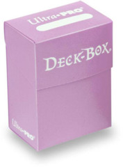 Ultra Pro Solid Color Deck Box - Pink