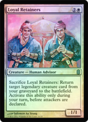 Loyal Retainers - Foil on Channel Fireball