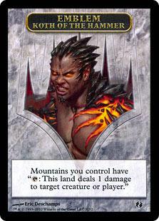 Emblem - Koth of the Hammer