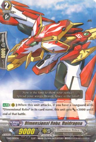 Dimensional Robo, Daidragon TD12/005EN
