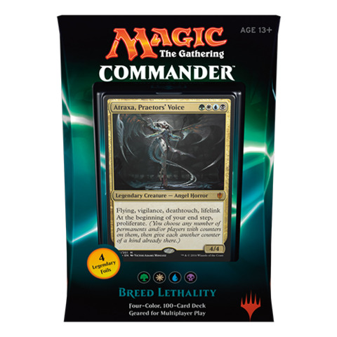 Commander 2016: Breed Lethality (Green/White/Blue/Black Deck)