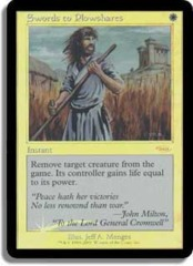 Swords to Plowshares (FNM Foil)