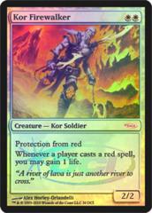 Kor Firewalker (WPN Foil) on Channel Fireball