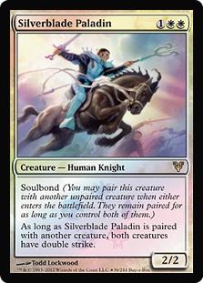 Silverblade Paladin (Avacyn Restored Buy-a-Box Promo)