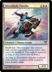 Silverblade Paladin (Avacyn Restored Buy-a-Box Promo) on Channel Fireball