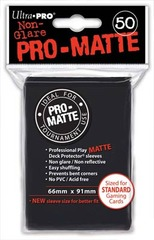 Ultra PRO Pro-Matte Sleeves - Black (50 ct.)
