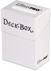 Ultra Pro Solid Color Deck Box - Clear