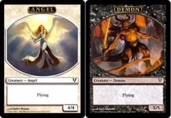 Angel/Demon Token (Double-Faced Helvault Foil)