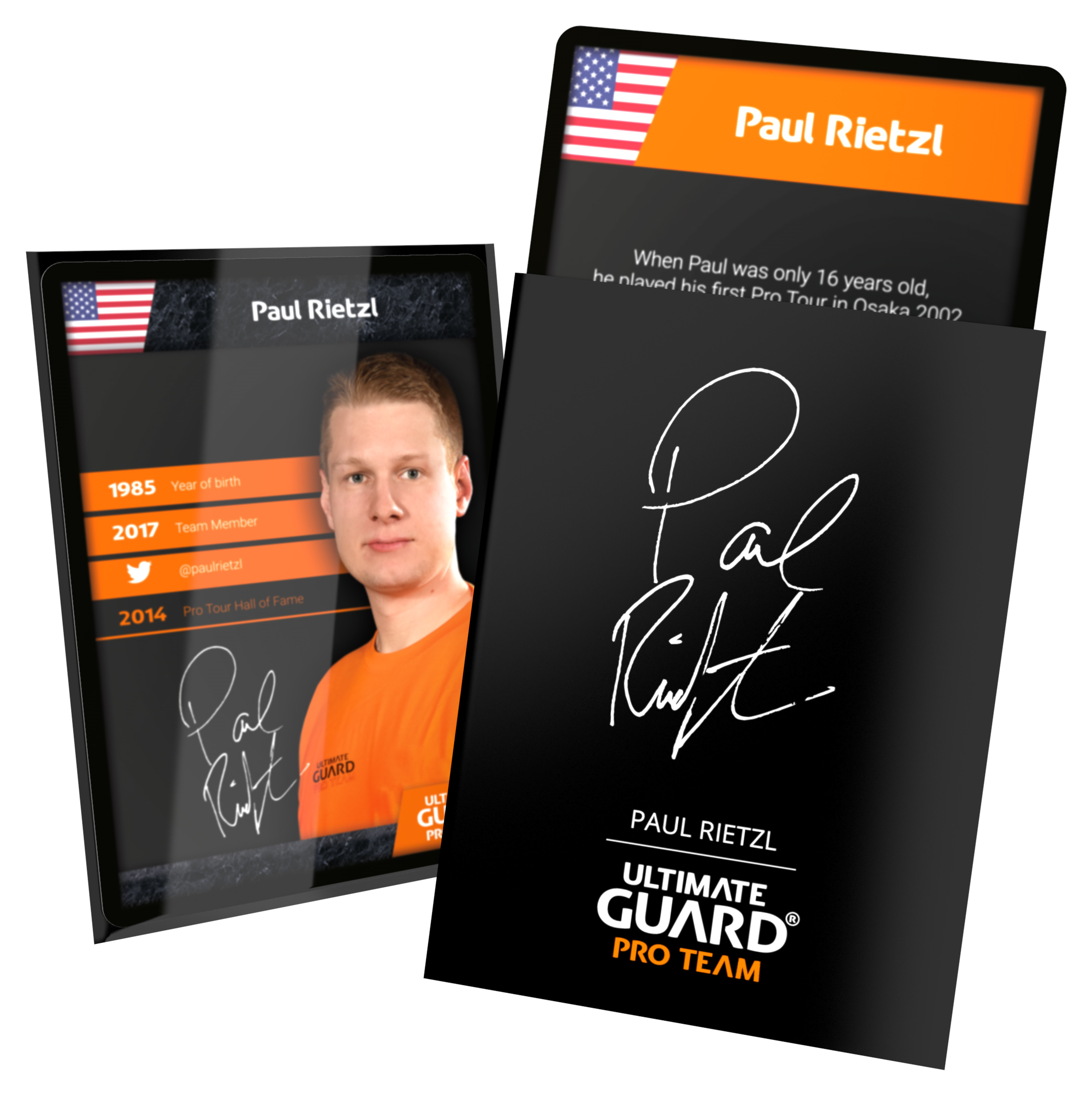 Ultimate Guard Pro Team Sleeves - Paul Rietzl (100 ct.)