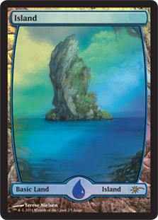 Island - Extended Art (Judge Foil)