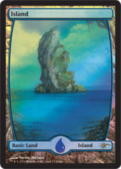 Island - Extended Art (Judge Foil)