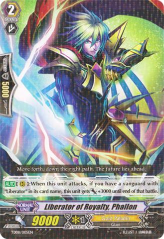 Liberator of Royalty, Phallon - TD08/005EN