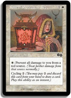 Rune of Protection: Red