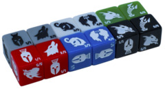 Monster Rocks - Token Dice (Original - Pack of 12)