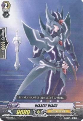 Blaster Blade - PR/0001EN