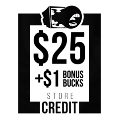 $26 Store Credit [CASH ONLY]