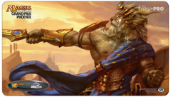 Grand Prix Phoenix 2014 Playmat - Brimaz, King of Oreskos